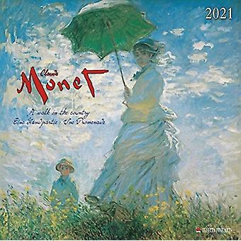 CLAUDE MONET WALK IN COUNTRY 2021 by Claude Monet