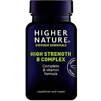 Higher Nature High Strength B Complex Caps 90 (BCC090)