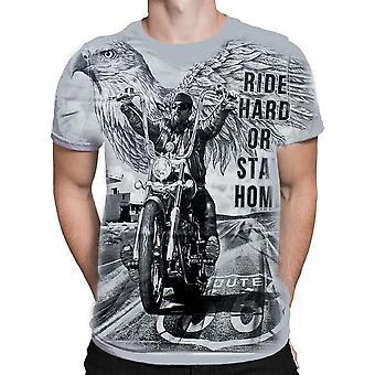 Aquila - ride hard choppers - t-shirt