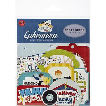 Carta Bella Family Night Ephemera