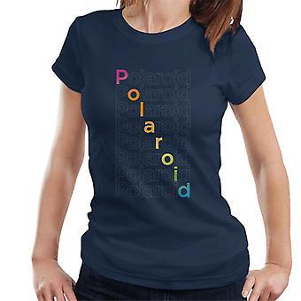 Polaroid Gradient Spectrum Naisten's T-paita