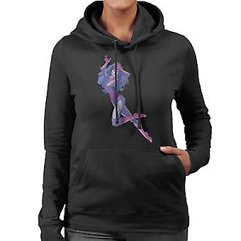 Jem And The Holograms Synergy AI Women's Hooded Sweatshirt
