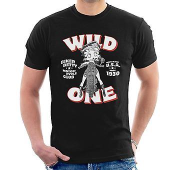 Betty Boop Wild One Miehet&s T-paita