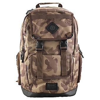 Element Cypress Recruit Unisex Backpack in Brown Camouflage