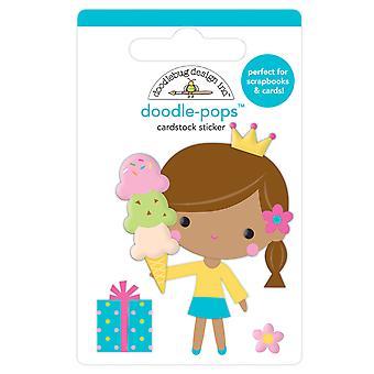 Doodlebug Design Syntymäpäivä Prinsessa Doodle-Pops