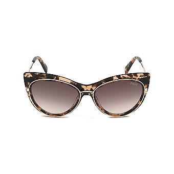 Emilio Pucci - accessoires - zonnebrillen - EP0108_55F - dames - zadelbruin, goud