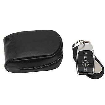Bolsa de couro Primehide Premium - Bloqueio RFID - Protetor de chave - 4824