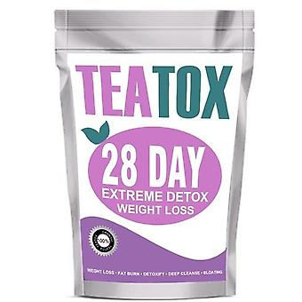 Detoxtea Bags Colon Cleanse Fat Burning Weight Loss For Man And Women - 28 Day Portion
