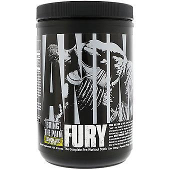 Nutrición Universal, Furia Animal, Limonada, 489.9 g