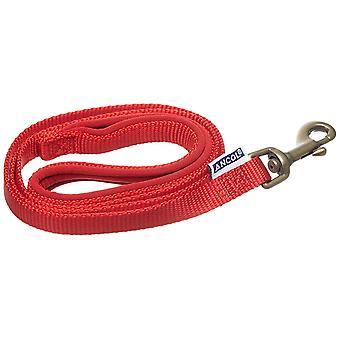Ancol Nylon Lead - Red - 19mm x 1m