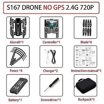 S167 Drone Gps 4k Hd 1080p 5g Wifi Quadcopter Drone