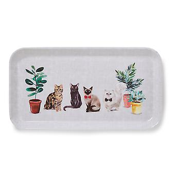 Cooksmart Curious Cats Small Tray