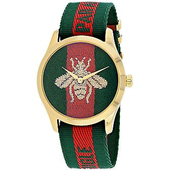 Gucci Men's G-Timeless Multi-Color Dial Watch - YA126487A
