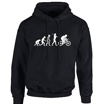 Cycling Evo Evolution Unisex Hoodie 10 Colours (S-5XL) by swagwear