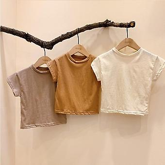 Baby T-shirts Short Sleeve Tops For Babies