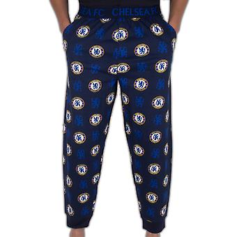Chelsea FC Official Football Gift Mens Lounge Pants Pyjama Bottoms