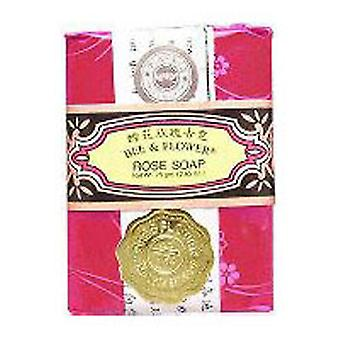 BEE & FLOWER SOAP Bar Soap Rose, 2.65 oz