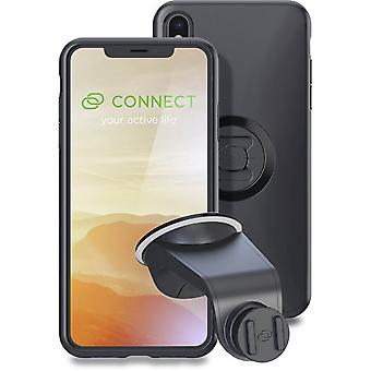 sp connect black iphone xs max case and suction mount