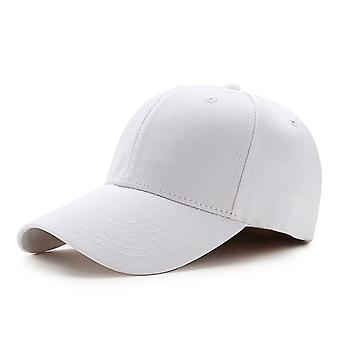 Men Women Plain Curved Sun Visor Baseball Cap Hat Solid Color Fashion