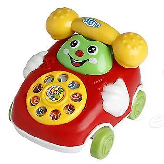 Lasten sarjakuva vedä linja puhelin / matkapuhelin lelu - koulutus oppiminen solu