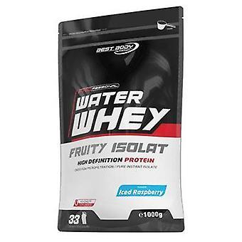 Best Body Nutrition Water Whey Fruity Isolate Iced raspberry 1000 gr