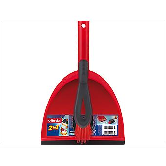 Vileda Dustpan and Brush Set FH141742