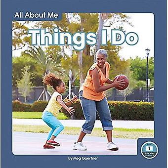 All About Me: Things I Do