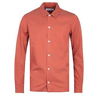 Samsoe & Samsoe Taka JX 11531 Orange Shirt