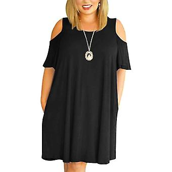 Woman Summer Lose Dresses Off The Shoulder Clothing Dress
