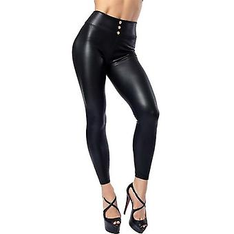 Women Sexy Faux Leather Leggings