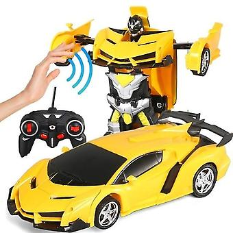 Transformation Robot Car -1:18 Deformation Rc  Toy