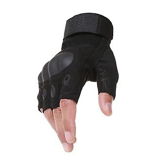 Outdoor Tactical Airsoft Sport Half Finger Type Military Combat Gloves