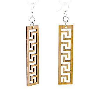Greek Bamboo Earrings