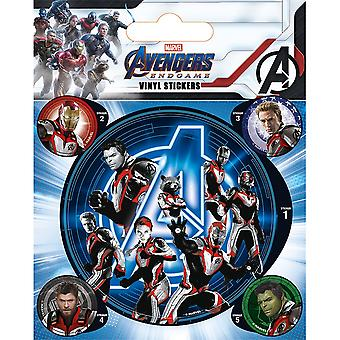 Avengers Endgame Quantum Realm Suits Vinyl Stickers (Pack of 5)
