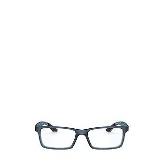 Ray-Ban RX8901 demi kiilto sininen unisex silmälasit