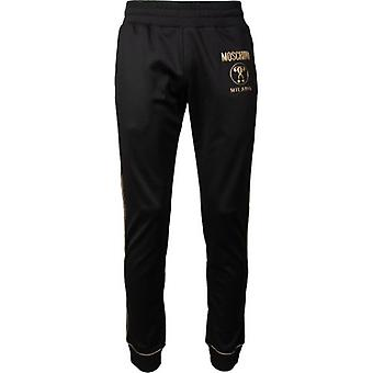 Moschino Couture Gold Logo Track Pants