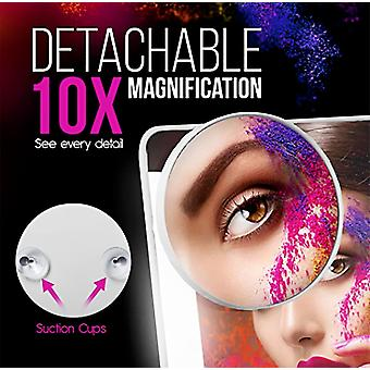 Makeup Vanity Face Table Top Portable Led Mirror Day Light for Women