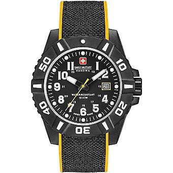 Mens Watch Swiss Military Hanowa 06-4309.17.007.79, Quartz, 44mm, 10ATM