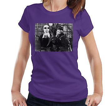 Den osynlige mannen och flora Cranley Kvinnor&apos, s T-shirt