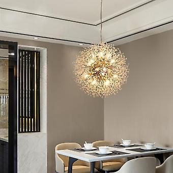 Crystal Dandelion Chandelier Lighting Pendant Lamp For Home Decoration