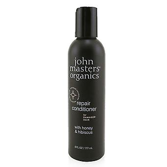 John Masters Organics Repair Conditioner For Damaged Hair with Honey & Hibiscus 177ml/6oz