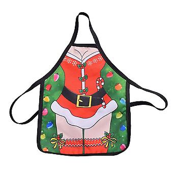 Santa Wine Bottle Apron Cover Wrap Xmas Dinner Party Table Decoration