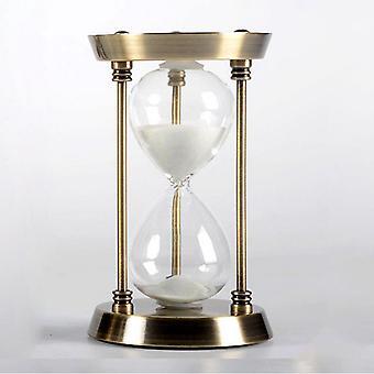 Metalli tiimalasi ajastin sisustus luova syntymäpäivä liike lahja kultaa 15 minuuttia