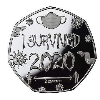 I Survived 2020 Commemorative Medal Commemorative Seal Commemorative Gift