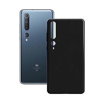 Mobildeksel Xiaomi Mi 10 Kontakt Silke TPU Svart