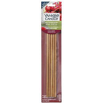 Yankee bougie cerise noire pré parfumé diffuseur de roseau recharges
