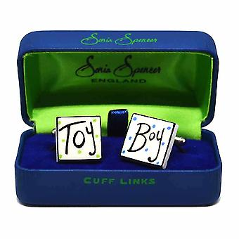 Toy Boy Cufflinks par Sonia Spencer