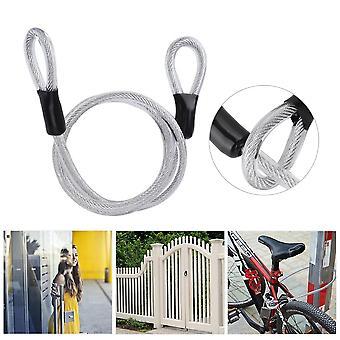 Siguranță 120cm Prelungi durabil din oțel sârmă cablu de securitate