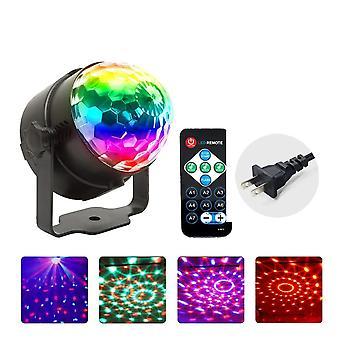 Mini Rgb Disco Light, Usb Ladattava lamppu, Dj Led Laser, Lava-projektori,