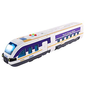 High-speed rail and subway assembling building block toys